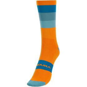 Endura Bandwidth Stripe Socken Herren orange